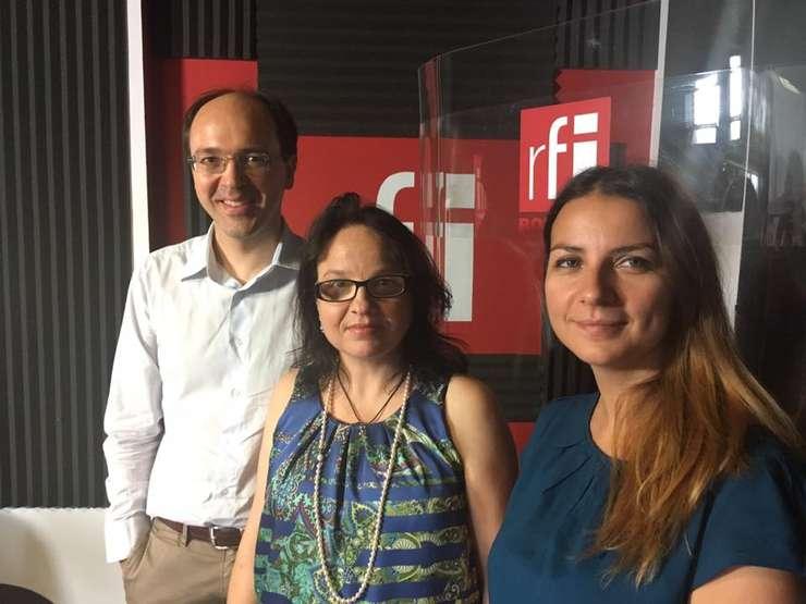 Vincent Lambotte, Iulia Badea Guéritée și Andreea Pietroşel