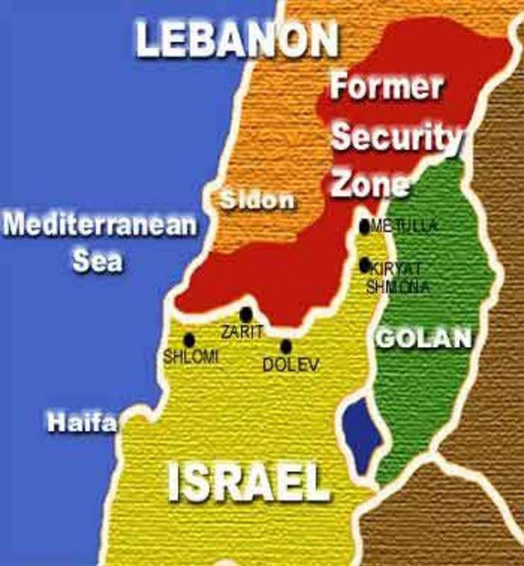 Israel Liban Harta 20090917100232 Jpg Rfi Mobile