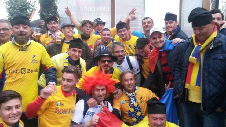 Suporteri ai echipei României la rugby