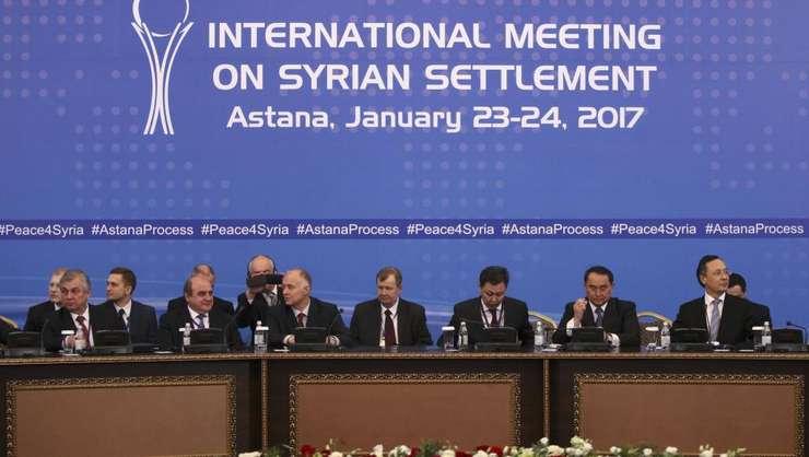 Prima conferinta la Astana în ianuarie 2017