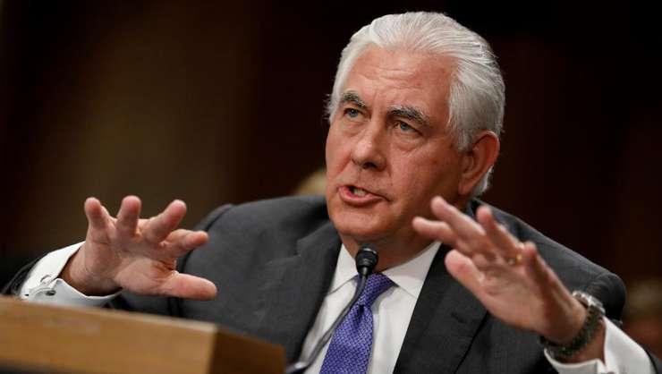Rex Tillerson, şeful diplomaţiei americane, care apare fragilizat în ultimul timp