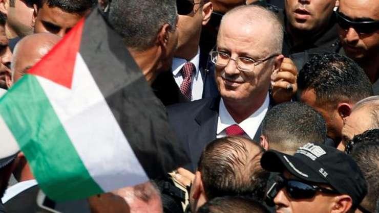 Rami Hamdallah primit triumfal în Gaza