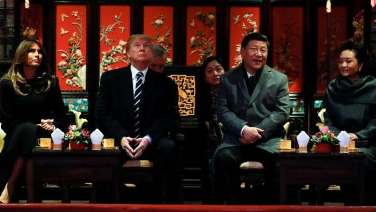 Donald Trump în China