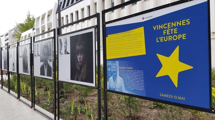 Fotografii cu copii nàscuti din cupluri mixte, expuse la Vincennes cu ocazai Zilei Europei 2017