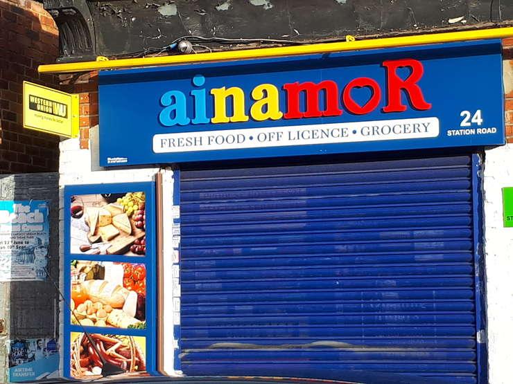 Magazin românesc din nordul Londrei