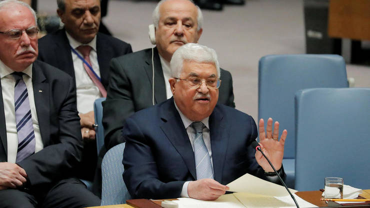 Mahmud Abbas la ONU în februarie 2018