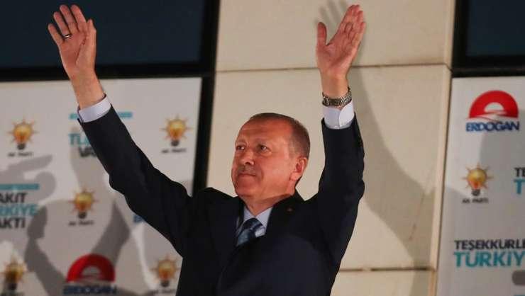 Recep Tayyip Erdogan reales din primul tur duminica 24 iunie 2018