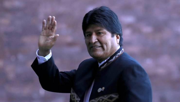 Fostul preşedintele bolivian Evo Morales, în prezent în exil în Mexic