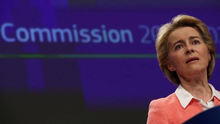 Ursula von der Leyen, noua preşedintă a Comisiei europene.