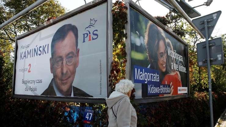 Partidul Lege şi Justiţie creditat cu un scor cuprins între 42 şi 45 la sută din sufragii la legislativele de pe 13 octombrie