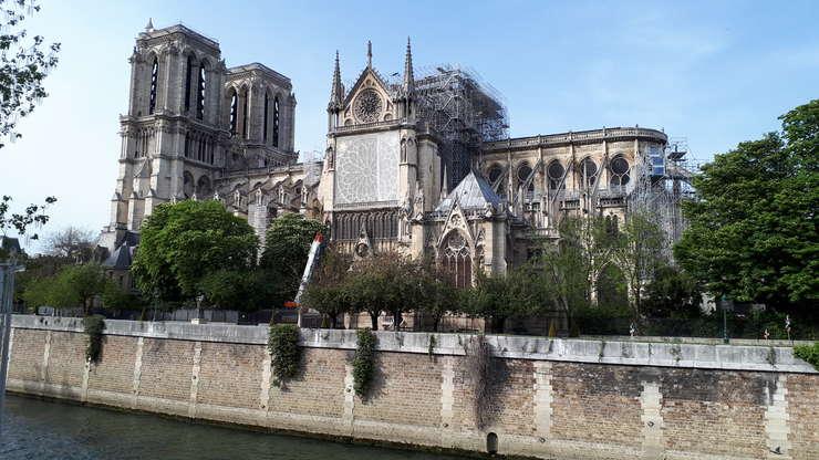 Catedrala Notre-Dame din Paris, douà sàptàmâni dupà incendiul din 15 aprilie