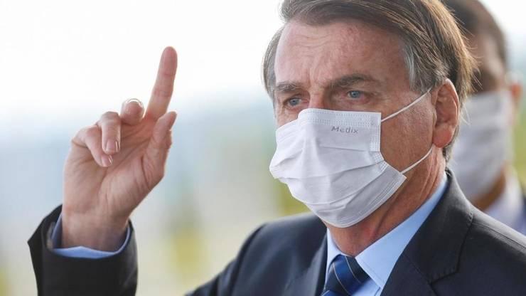 Jair Bolsonaro în mai 2020.