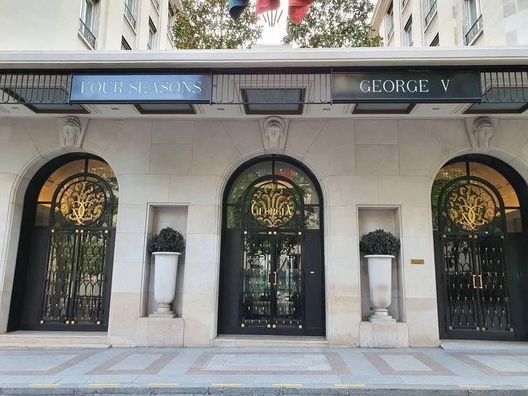 """Hotelul Four Seasons-George V este închis, ca toate celalalte """"Palaces"""" din Paris"""
