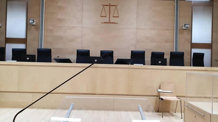 Sala de audiente în care se va derula procesul atentatelor din 13 noiembrie 2015.