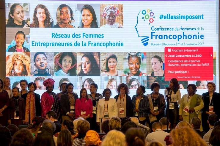 Participante la Conferinta Femeilor Francofone Bucuresti 2017