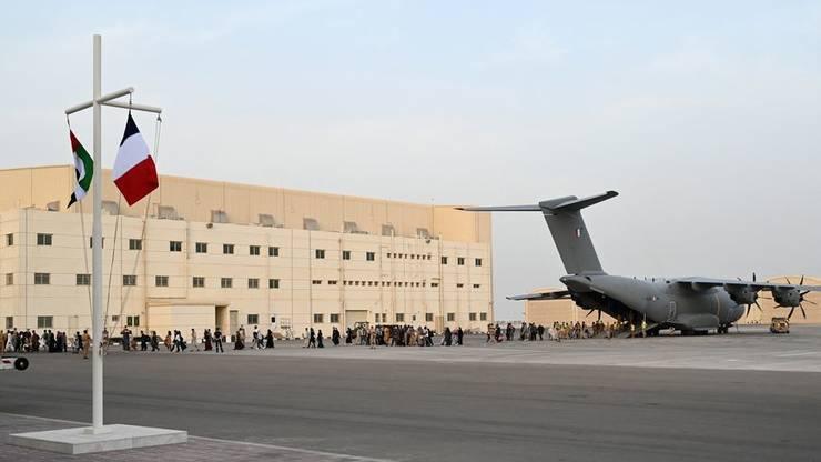 avion francez Kabul