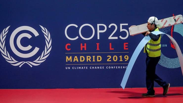 Pregătiri pentru Conferinţă la Palatul Congreselor de la Madrid, 30 noiembrie 2019