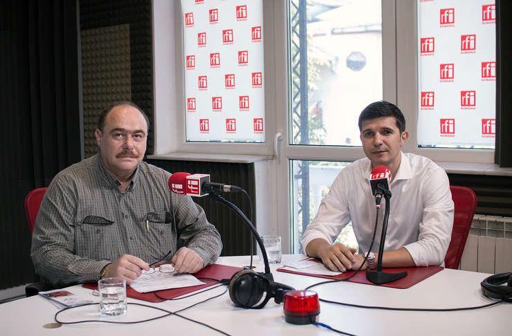 """Sorin GRECEANU şi Mihai CRĂCEA la emisiunea radio """"Ora de risc"""""""