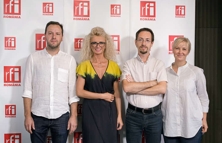 Dan Bărbulescu, Adriana Calcan, Cosmin Ruscior și Anastasia Staicu