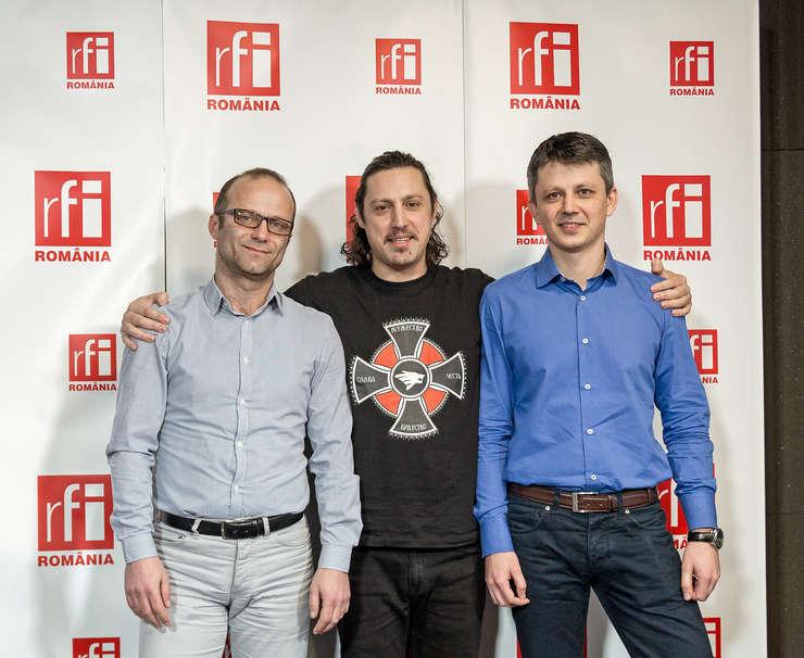 Laurenţiu Spermezan Dan Pavel şi Cătălin Dondera