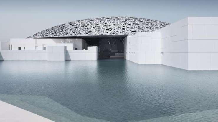 Noul Muzeu Luvru de la Abu Dhabi.