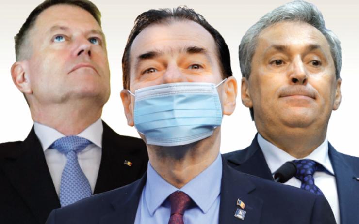 Klaus Iohannis, Ludovic Orban și Marcel Vela vor decide dacă se impun noi restricții.