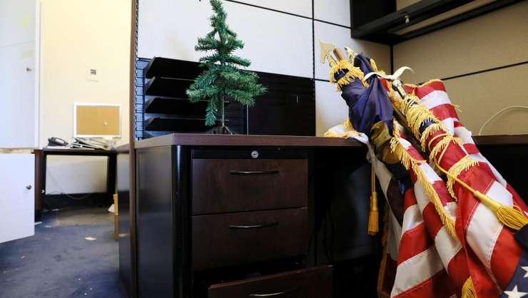 Blocaj în administraţia din SUA (Foto: Reuters/Jonathan Ernst)