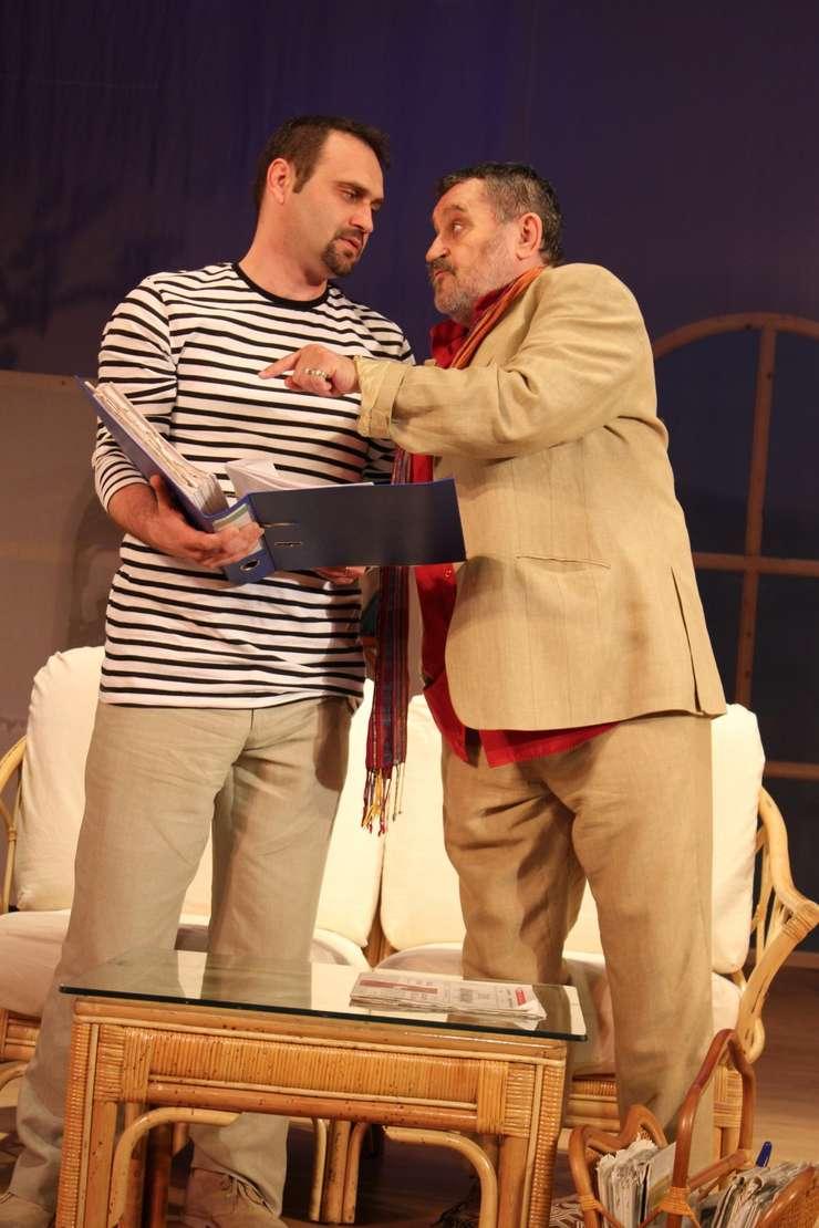 Adrian Văncică și Ion Haiduc în Vacanță în Guadelupa