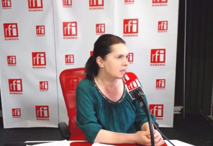 Adriana Săftoiu: E bine să-i lăsăm pe cei de la PSD să-şi dea un test de fidelitate (Foto: arhivă RFI)