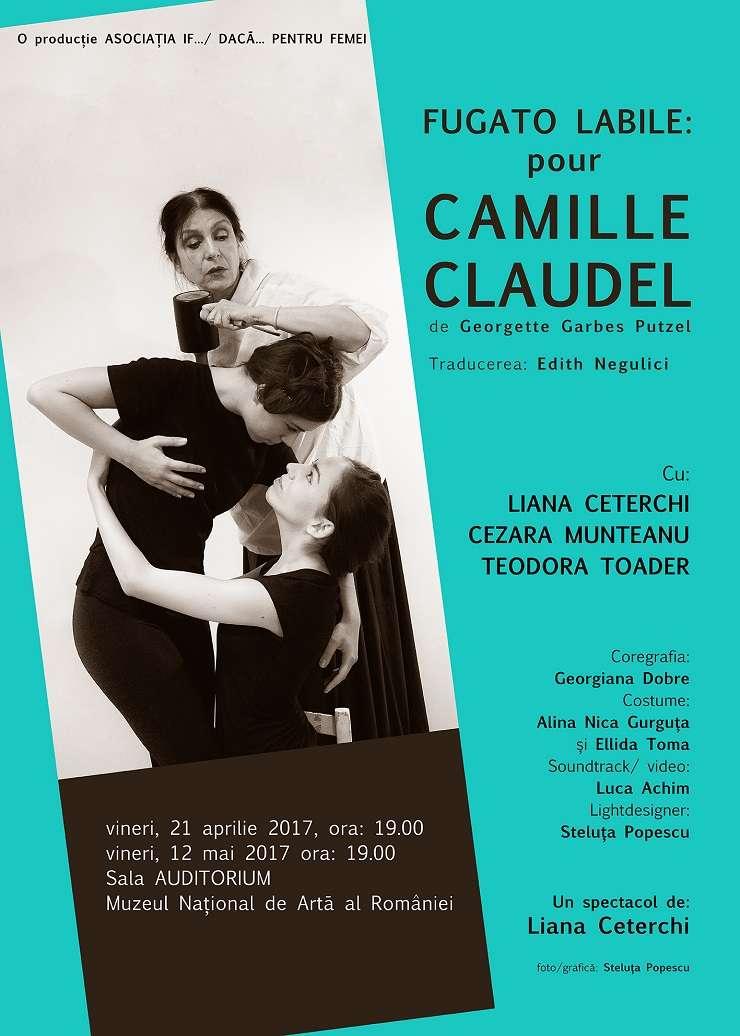 Afiș Piesa de teatru - Fugato Labile: Camille Claudel