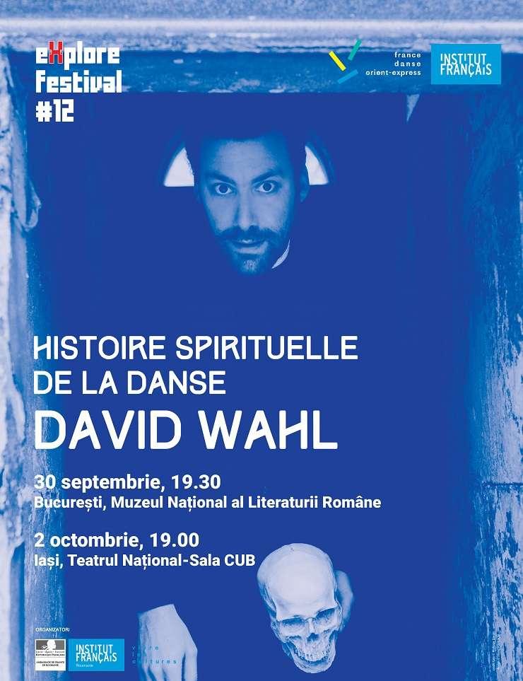 Afiș David Wahl - Istoria spirituală a dansului