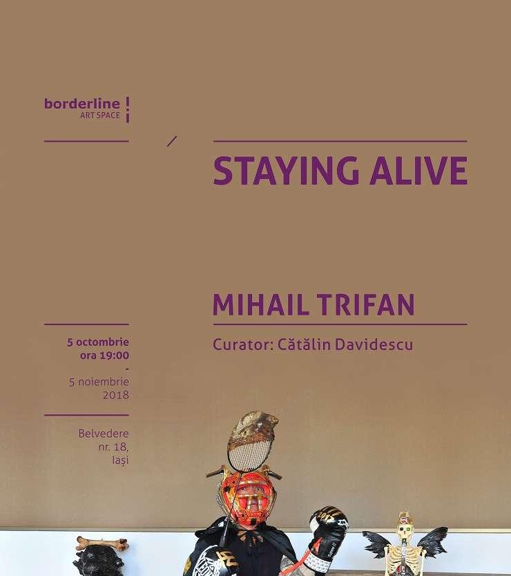 Afiș expoziție Mihail Trifan