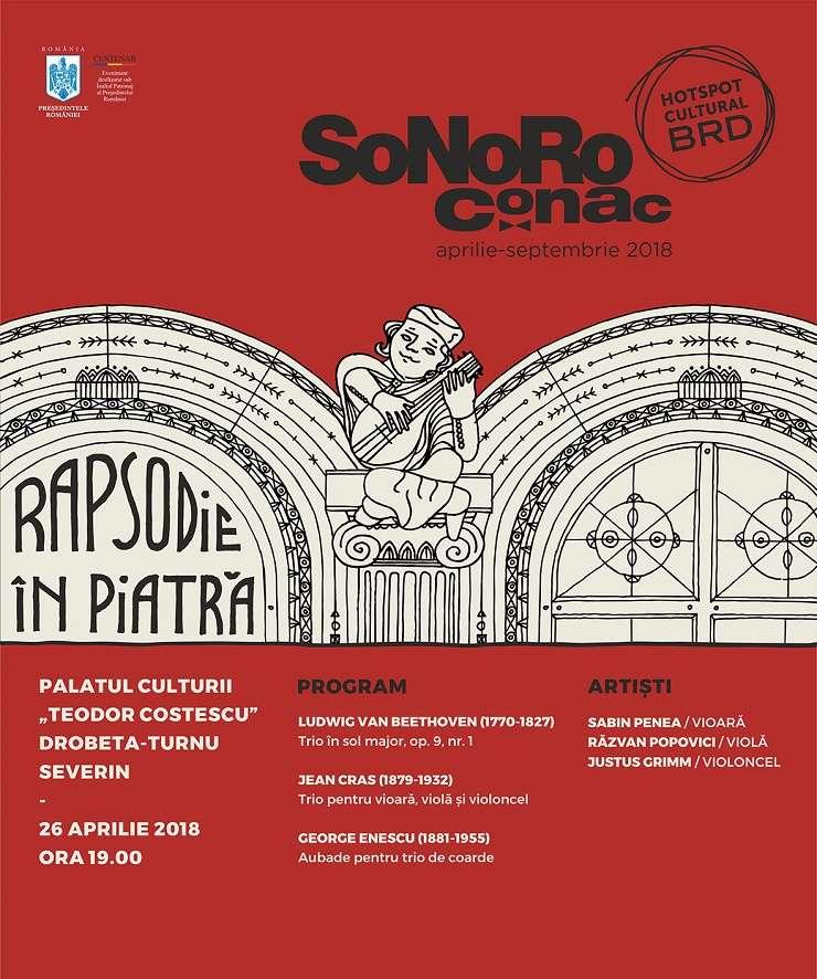 Afiș Sonoro Conac 2018