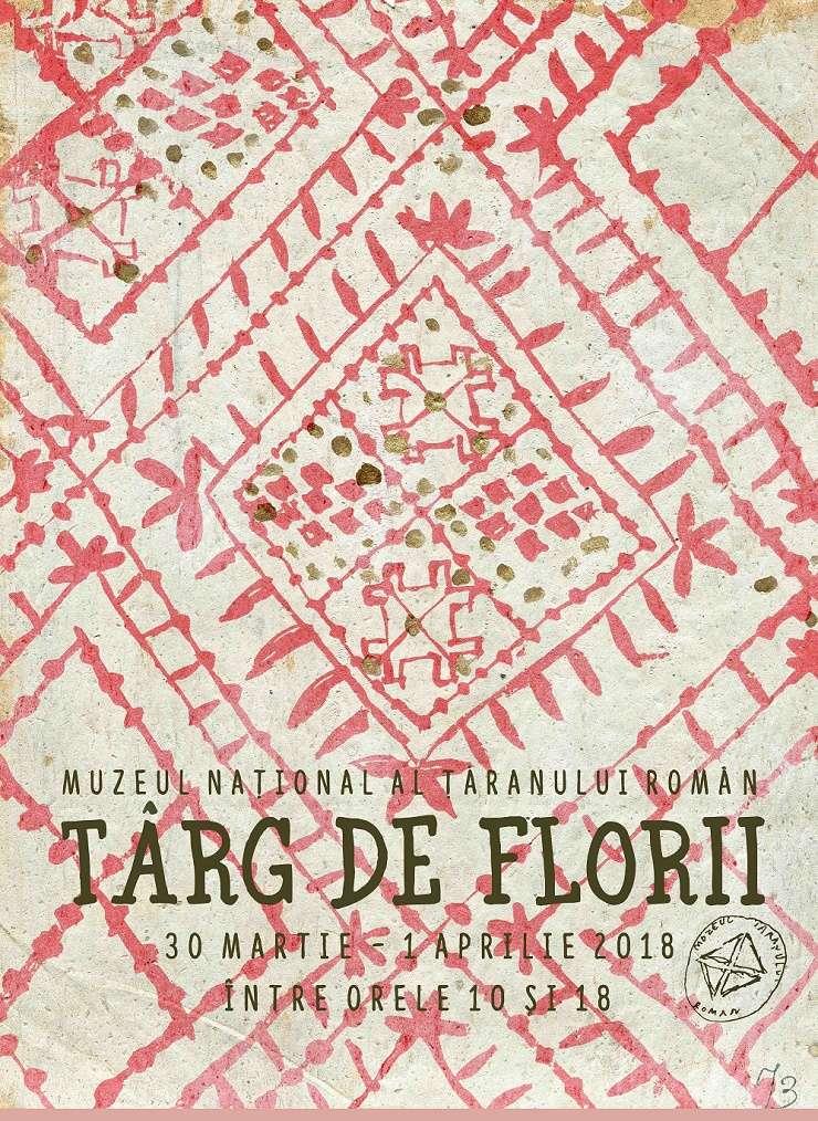 Afiș Târg de Florii