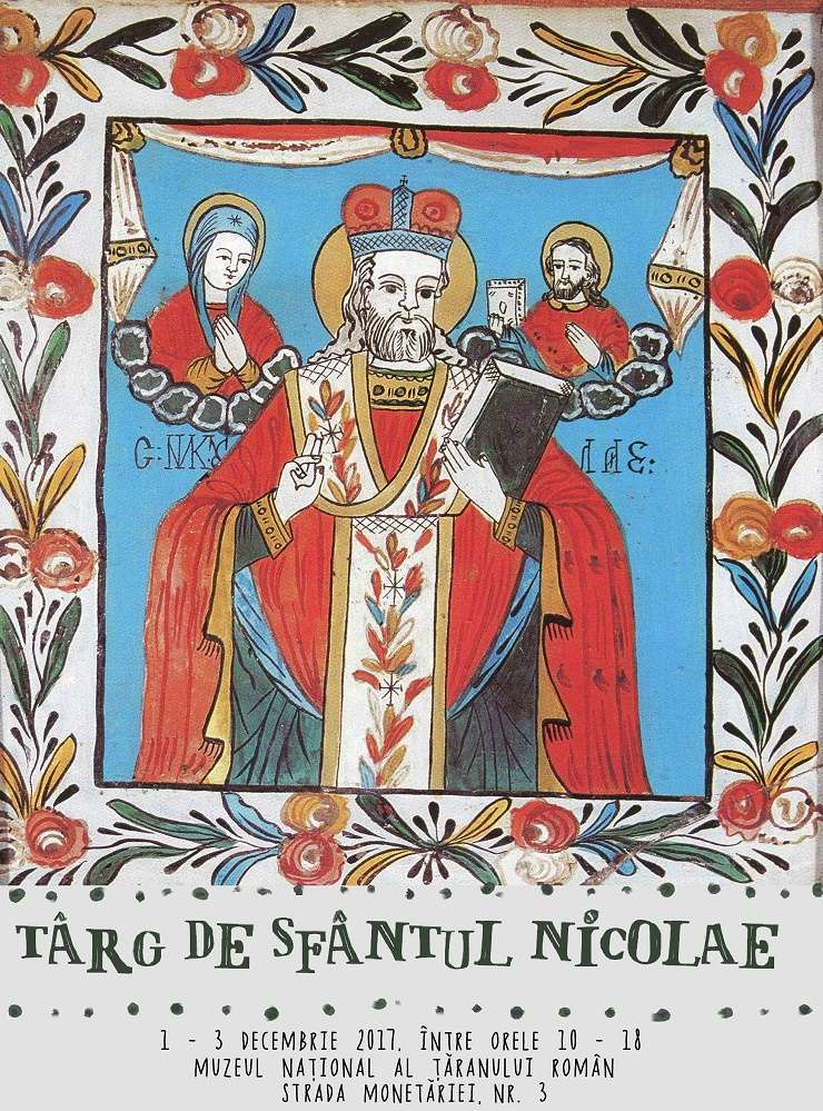 Afiș Târgul de Sfântul Nicolae, MNȚR 2017