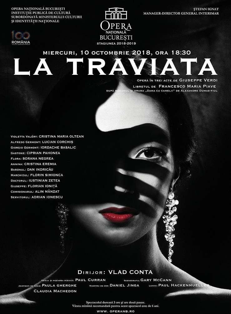 Afiș La Traviata