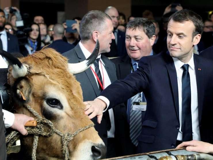 Niciun fermier sau consumator nu vrea să fie sub dictatul unei ţări din afara Europei (Emmanuel Macron)