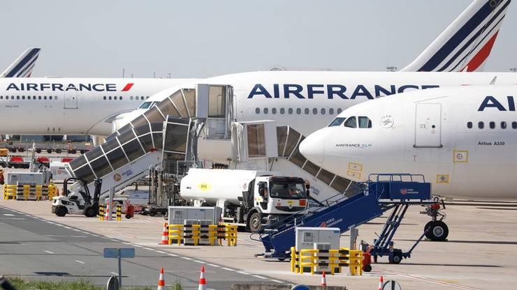 Air France-KLM a pierdut 7,1 milliarde de euro în 2020.