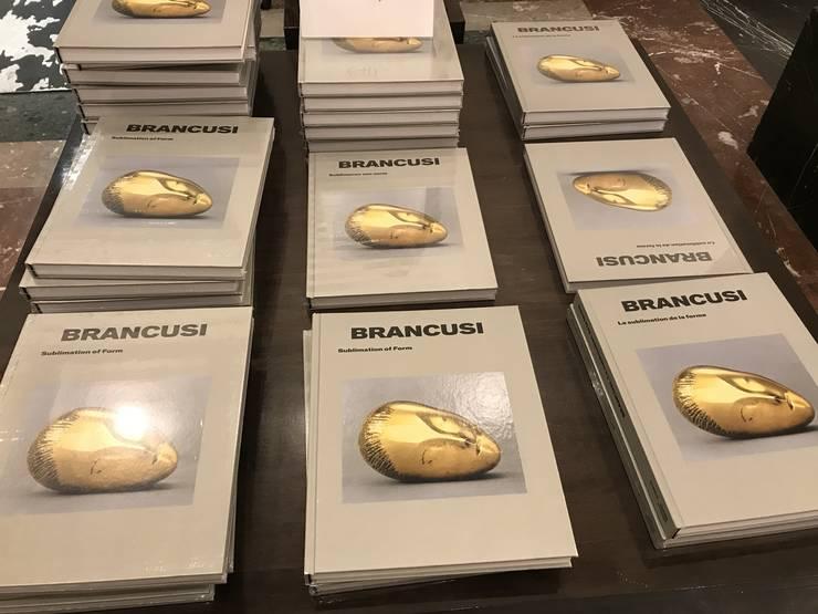 Albumul editat cu ocazia expoziţiei dedicată lui Constantin Brâncuşi