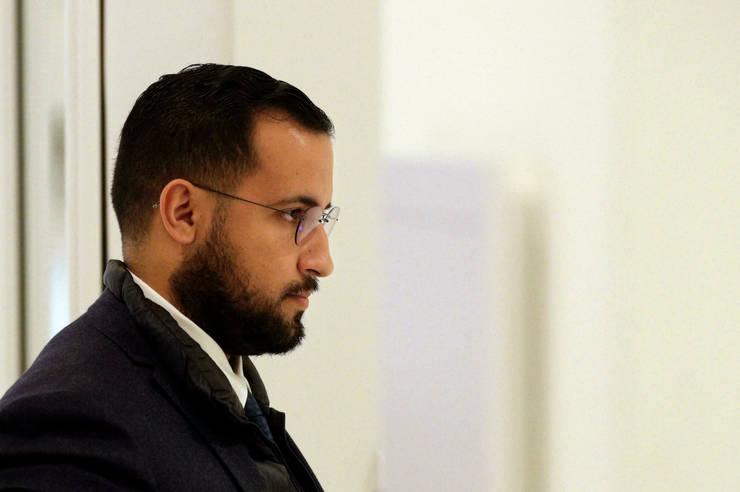 Alexandre Benalla - fost responsabil cu securitatea misiunilor pe care presedintele Emmanuel Macron le efectua.
