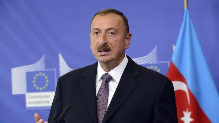 Presedintele azer, Ilham Aliev, la Bruxelles în 2013