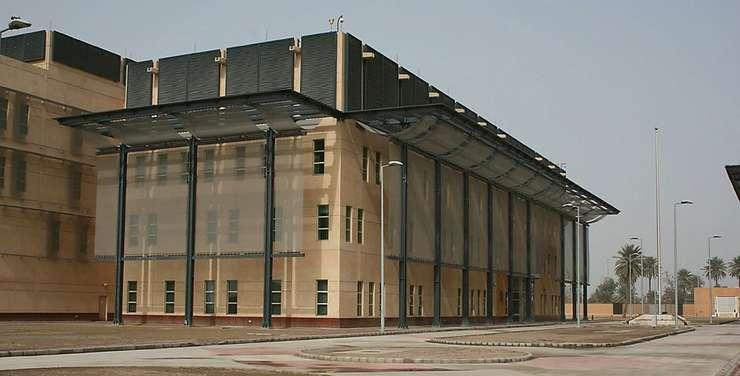 Ambasada SUA la Bagdad, Irak.