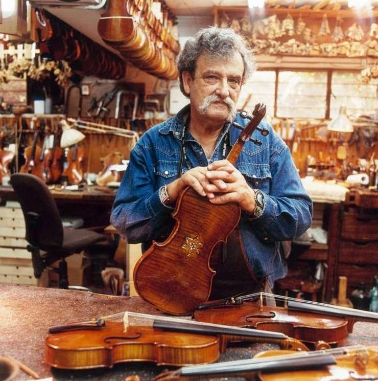Amnon Weinstein - Fondatorul proiectului Violins of hope