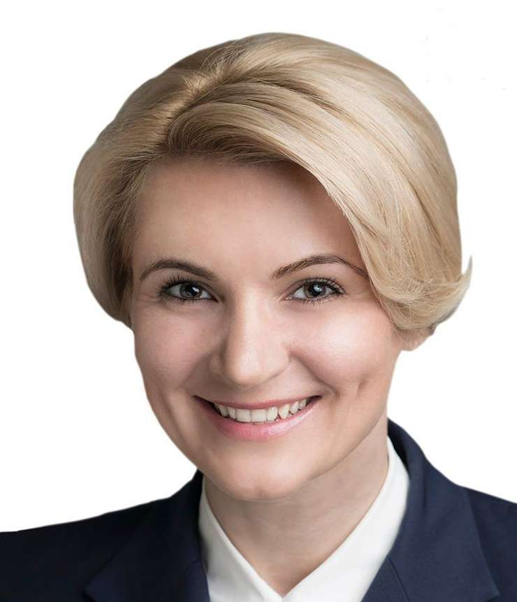 Prim-vicepreşedintele PNL, Andreea Paul (Foto: Facebook Andreea Paul)