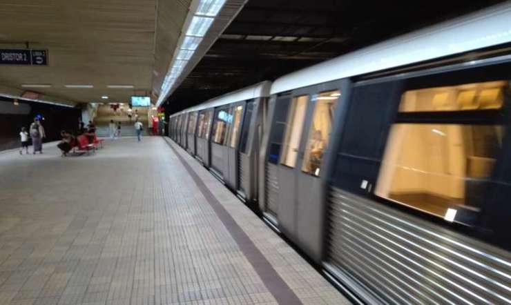 Grevă la metroul bucureştean (Foto: RFI/Cosmin Ruscior)