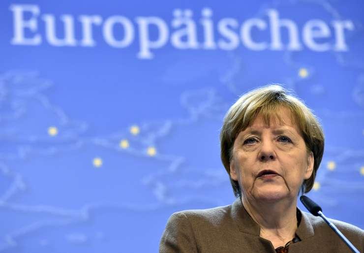 Cancelarul german, Angela Merkel (Foto: Reuters/Eric Vidal)