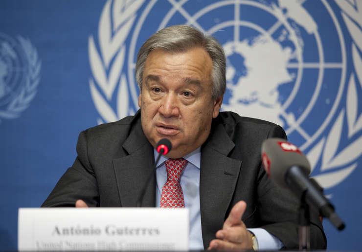 Antonio Guterres a fost propus pentru postul de secretar general ONU