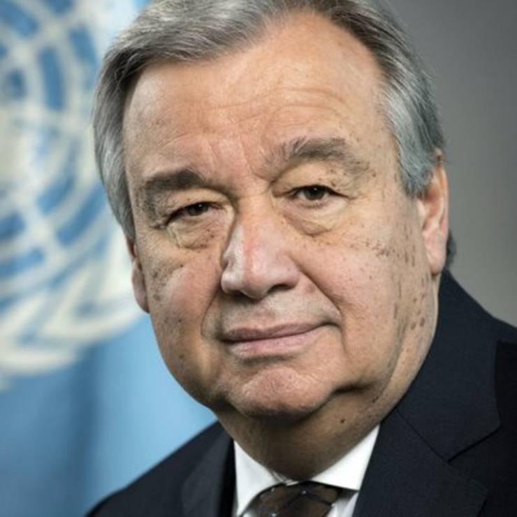 Antonio Guterrez, Secretar General al ONU
