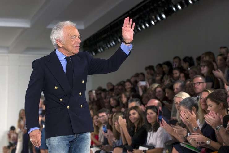 Ralph Lauren, la o prezentare de modă la New York, 17 septembrie 2015 (Foto: Reuters/Lucas Jackson)