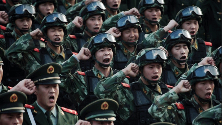 Azi, firmele chinezesti sunt cele care furnizeazà în principal arme Armatei populare de eliberare